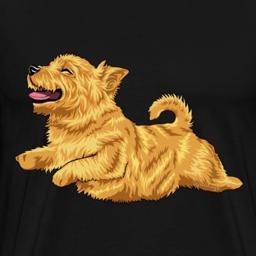 Norwich Terrier 2 - Men's Premium T-Shirt