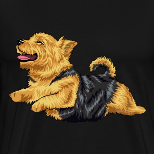 Norwich Terrier - Men's Premium T-Shirt