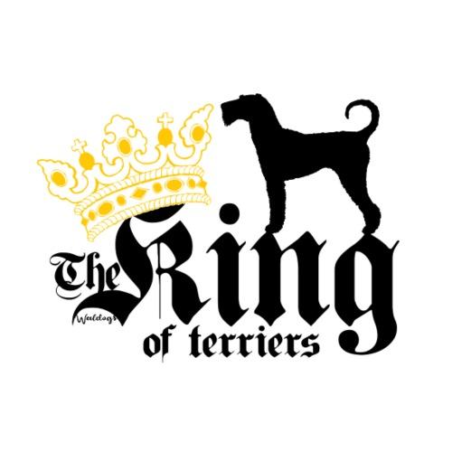 Airedale King of 03 - Miesten premium t-paita