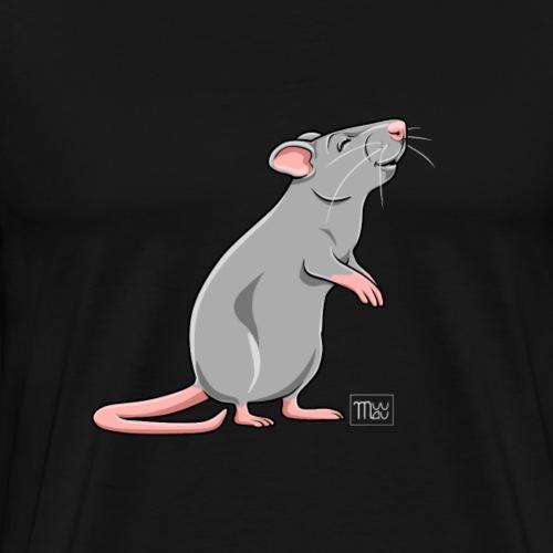 Råtta I - Miesten premium t-paita