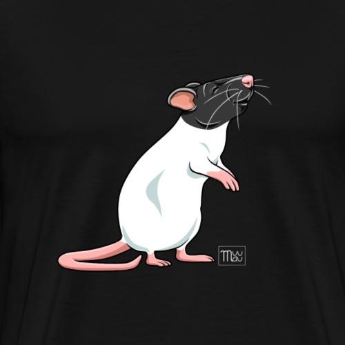 Råtta VII - Miesten premium t-paita