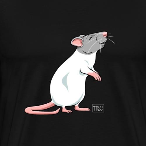 Råtta VI - Miesten premium t-paita