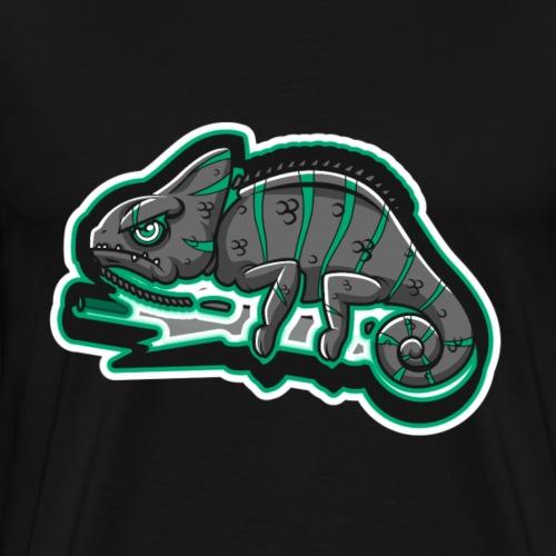 Angry Chame - Miesten premium t-paita