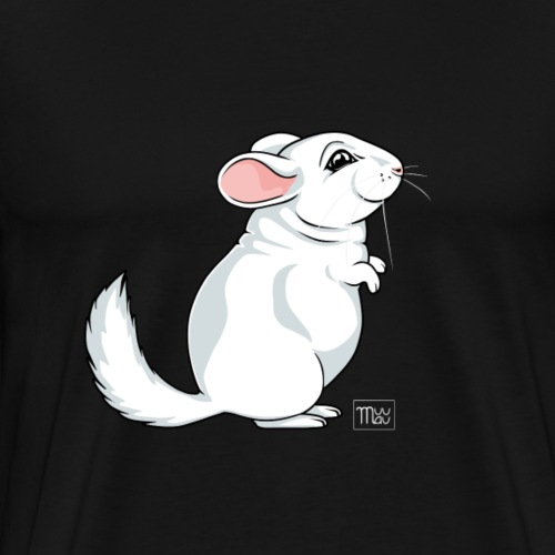 Chinchilla II - Miesten premium t-paita