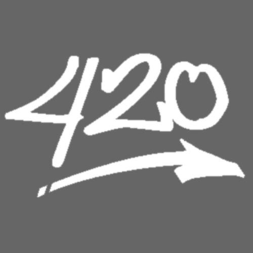 420 Kiffer weiss - Männer Premium T-Shirt