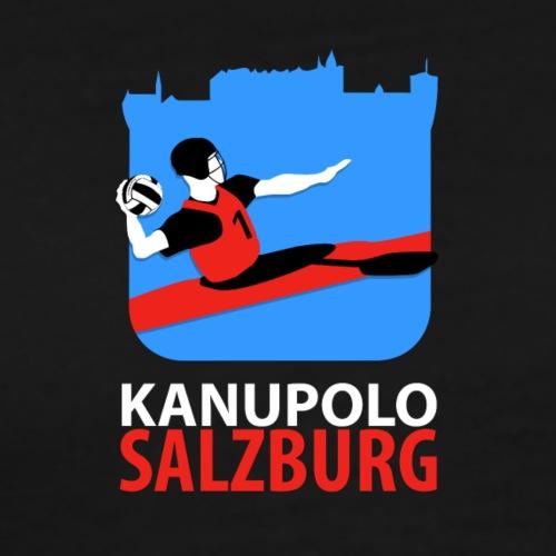 Kanupolo Logo No 2 gross 800x1100 negativ - Männer Premium T-Shirt