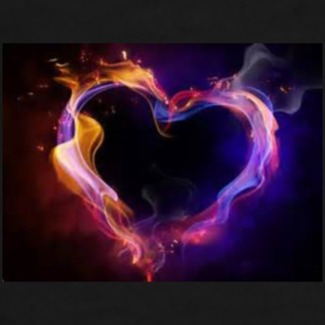 coeur de flamme