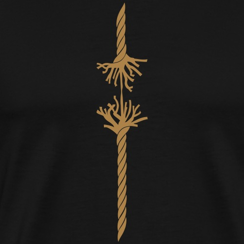 Geduldsfaden - Männer Premium T-Shirt