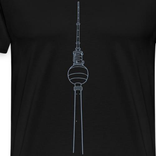 Torre della televisione di Berlino - Maglietta Premium da uomo