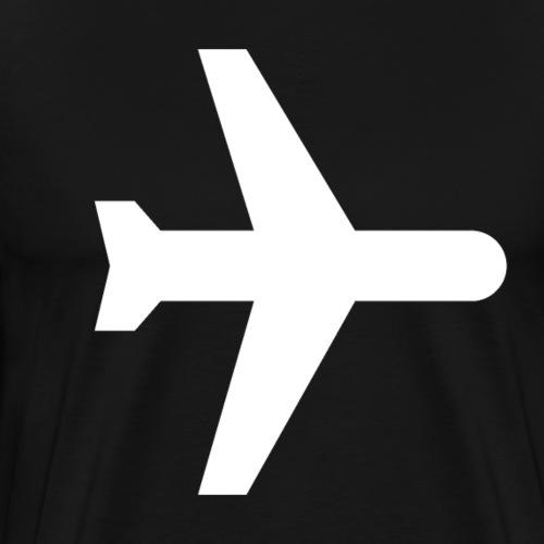 Airplan White - Men's Premium T-Shirt