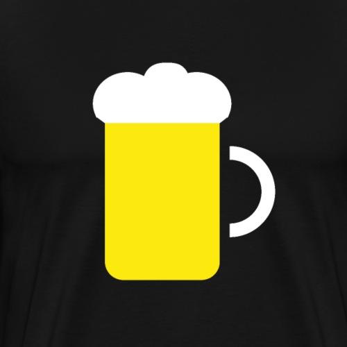 Beer icon - Men's Premium T-Shirt