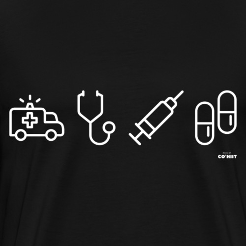 Infirmier (blanc) - T-shirt Premium Homme