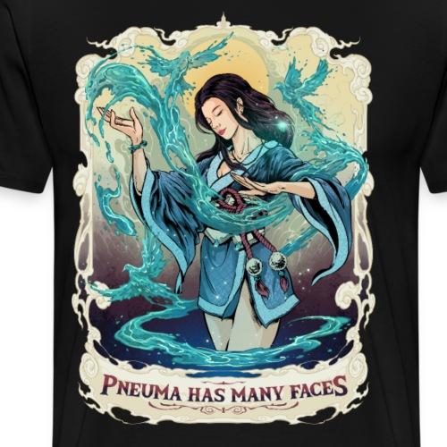 Pneuma Has Many Faces - Männer Premium T-Shirt