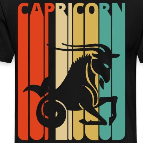 Vintage Capricorn Zodiac for Christmas, Birthday - Men's Premium T-Shirt