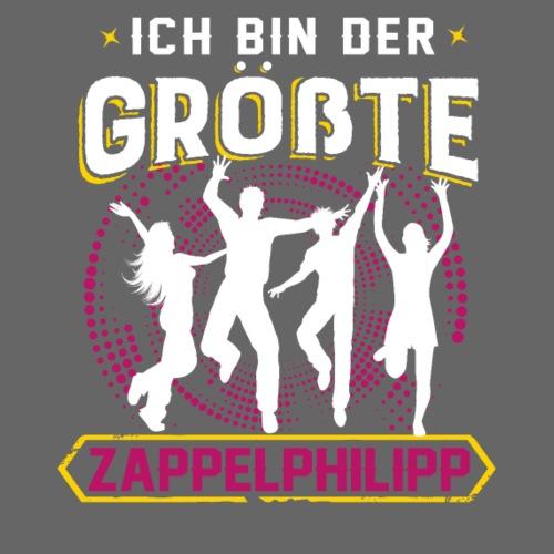 VORNE Zappelphilipp / HINTEN Konzert - Männer Premium T-Shirt
