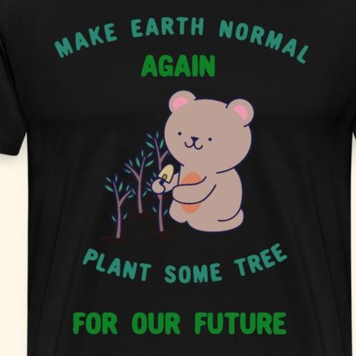 Erde Baum für unsere Zukunft
