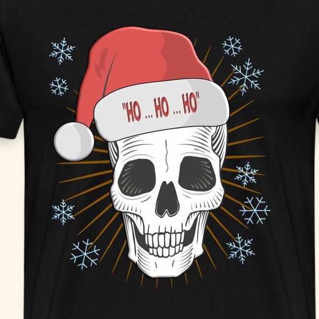 Santa Claus is Dead Weihnachten Totenkopf