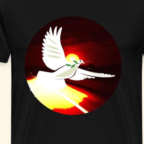 Freidenstaube auf der Flucht - Männer Premium T-Shirt