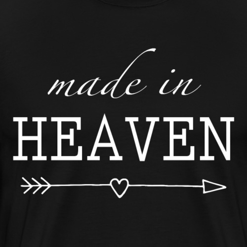 Sany O. Made In Heaven - Jesus T Shirt - Männer Premium T-Shirt