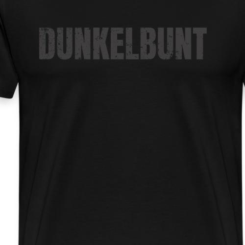Schwarz ist bunt genug. Dunkelbunt Design - Männer Premium T-Shirt