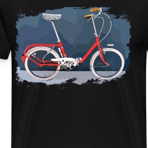 Klapprad rot - Das Kultrad ohne Gelenk - Männer Premium T-Shirt