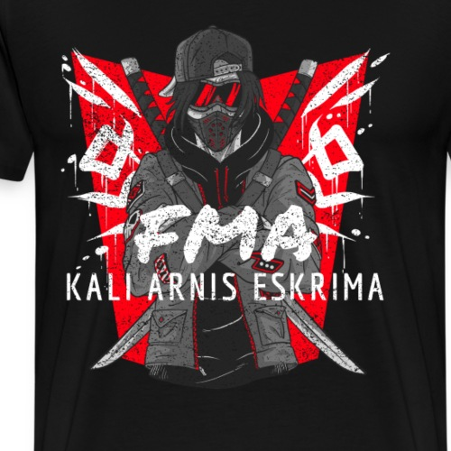 FMA Kali Arnis Eskrima Fighter Martial Arts - Männer Premium T-Shirt