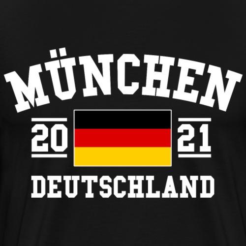 Deutschland 2021 München Fußball Oktoberfest - Männer Premium T-Shirt