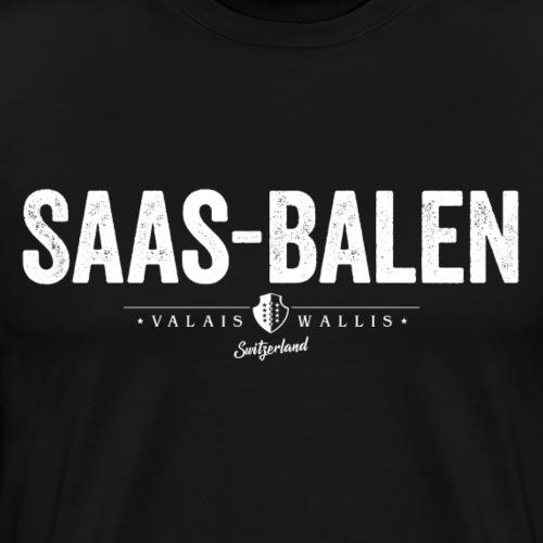 SAAS-BALEN - Männer Premium T-Shirt