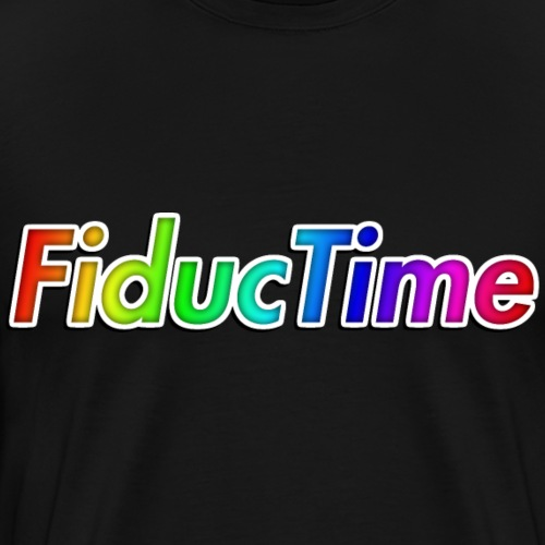 FiducTime With Shadow - Men's Premium T-Shirt
