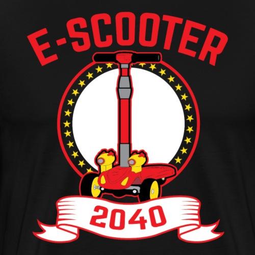 Escooter 2040 - Männer Premium T-Shirt