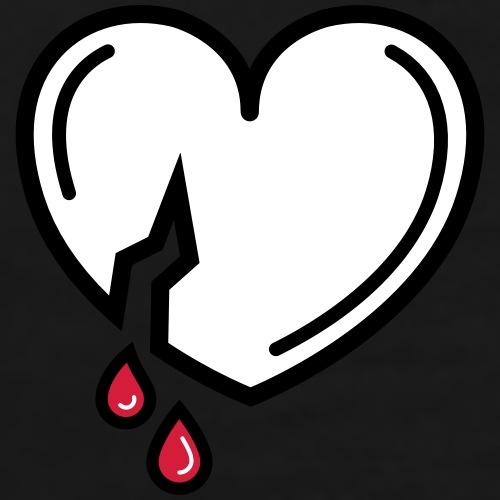 Bloody Love - Mannen Premium T-shirt