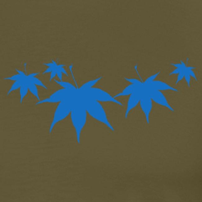 foglie azzurre png
