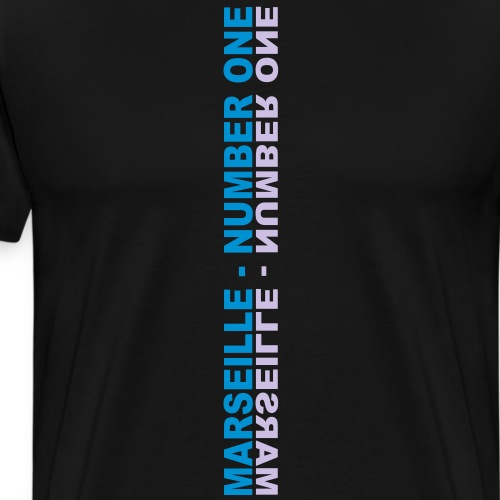 Marseille number one - T-shirt Premium Homme