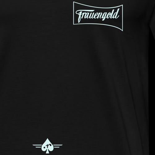 Fauengold 2col - Männer Premium T-Shirt