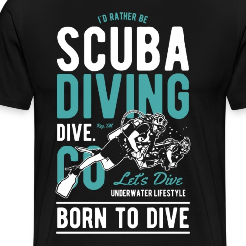 Scuba Diving II - Männer Premium T-Shirt