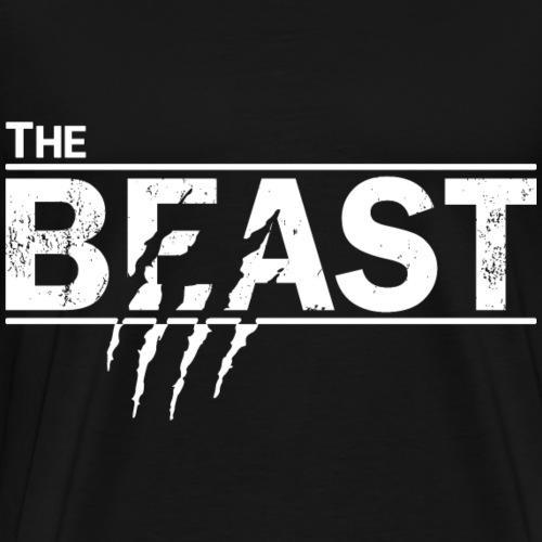 The beauty and the beast - Männer Premium T-Shirt