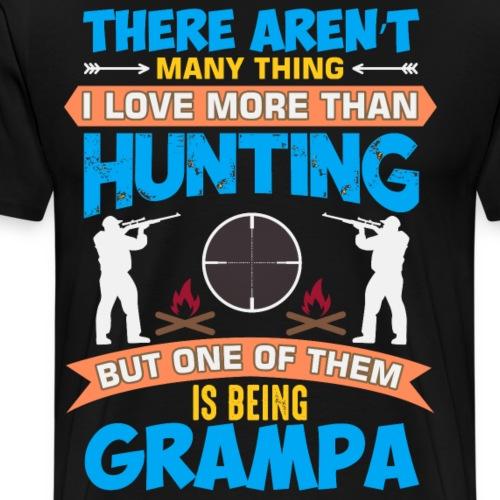 Cooler Spruch Jagen Jaeger USA - Männer Premium T-Shirt