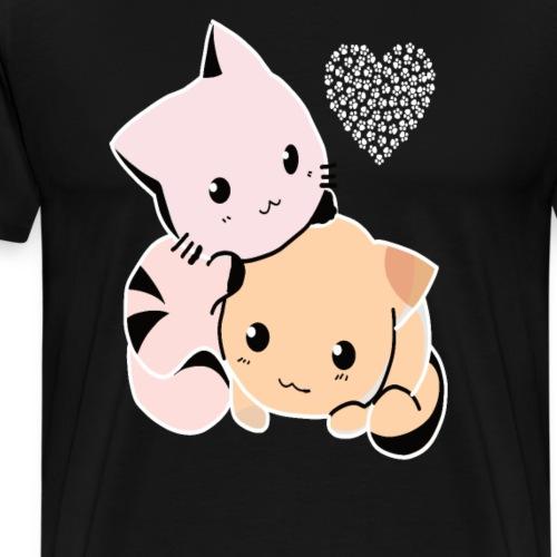 Süsse Kitten - Männer Premium T-Shirt
