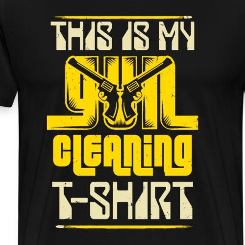 Waffenfreund Waffe Schützenverein Cowboy Geschenk - Männer Premium T-Shirt