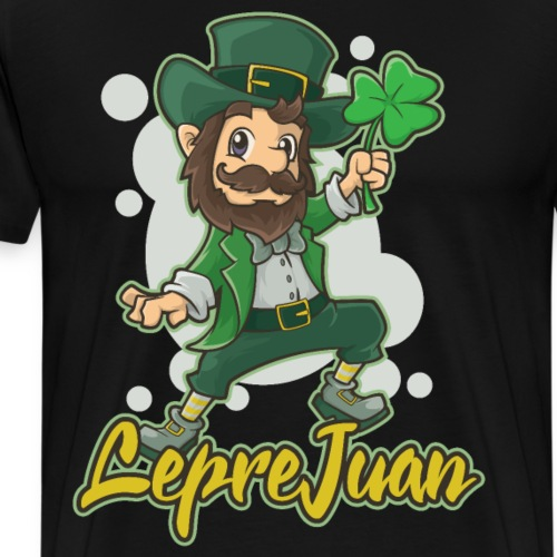 I Love His Leprechaun St. Patricks Day Couple Outfit Premium