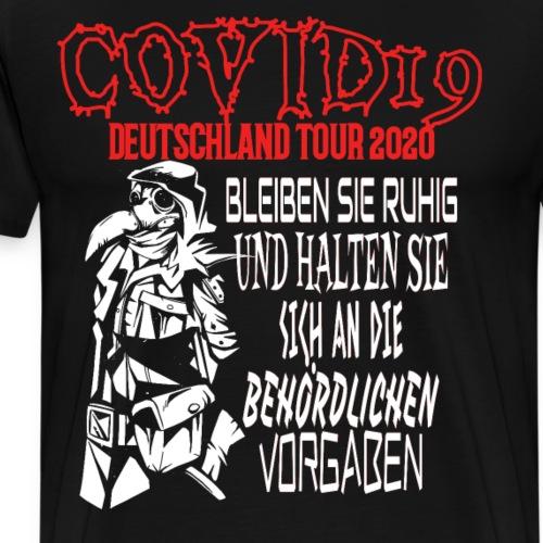 Plague Pestdoktor Maske Death Metal Covid Geschenk - Männer Premium T-Shirt