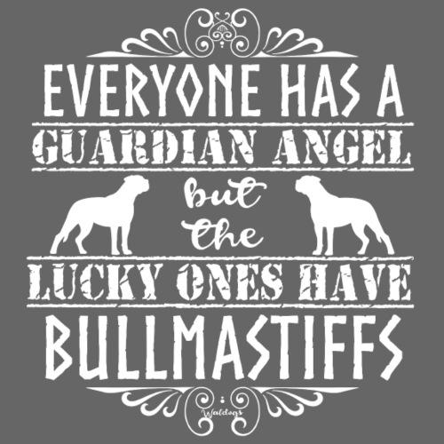 Bullmastiff Angels - Miesten premium t-paita