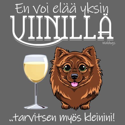 Yksin Viinillä Kleini VI - Miesten premium t-paita