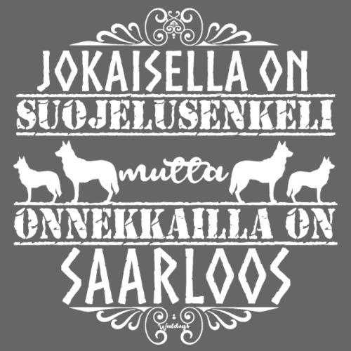 Saarloos Enkeli - Miesten premium t-paita
