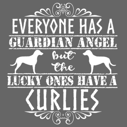 Curly Angels - Miesten premium t-paita