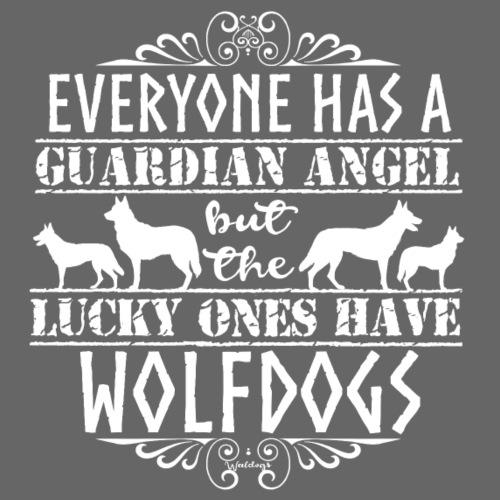 Wolfdog Angels - Miesten premium t-paita