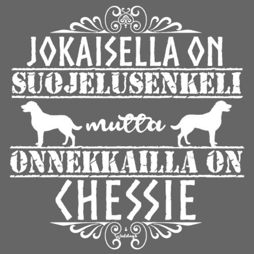Chessie Enkeli - Miesten premium t-paita