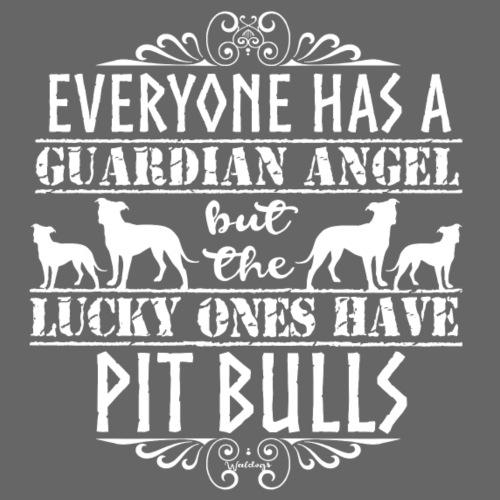 Pit Bull Angels - Miesten premium t-paita