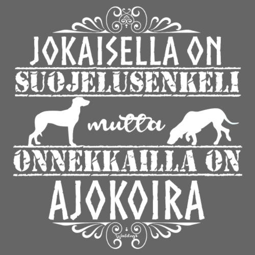 ajokoiraenkeli - Miesten premium t-paita