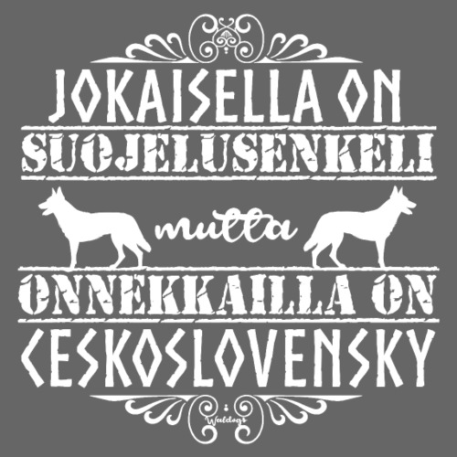 Ceskoslovensky Enkeli - Miesten premium t-paita